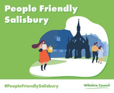 People Friendly Salisbury logo branding